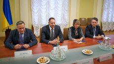 Ермак встретился с послами стран «Большой семерки»