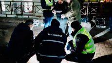 В центре Киева застрелили мужчину