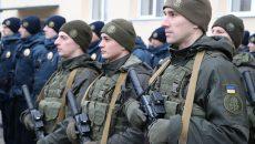 Нацгвардия приступила к патрулированию Мукачево