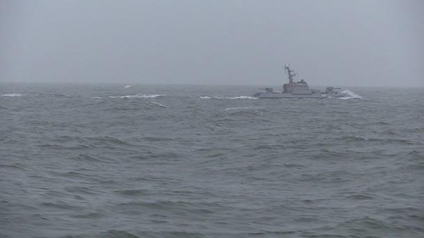 Украина провела учебные стрельбы на Азовском море