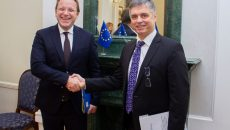 Еврокоммисар планирует вывести отношения Украины и ЕС на новый уровень