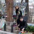 Зеленский с супругой почтили память Героев Небесной Сотни