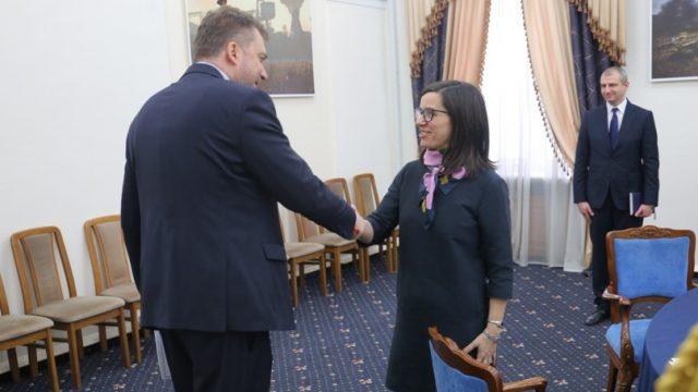 Министр обороны Украины провел встречу с послом Канады