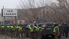 В Новых Санжарах пострадали 9 полицейских