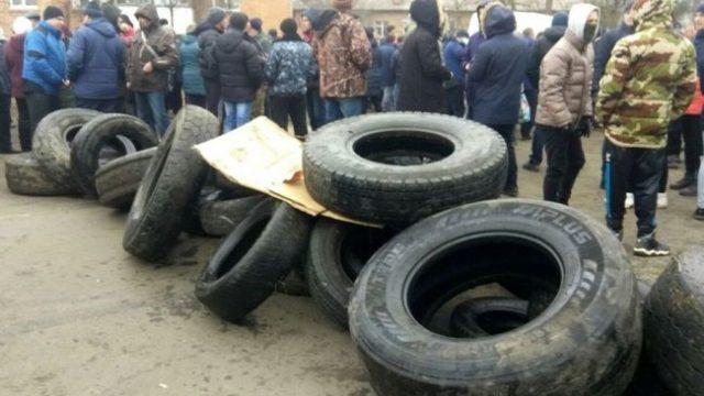 Суд арестовал участников беспорядков в Санжарах