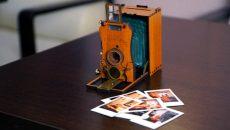 Украинский стартап разработал современный фотоаппарат, стилизованный под старину