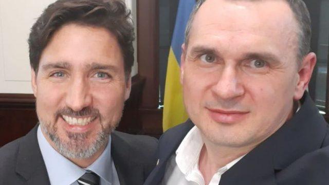 Трюдо встретился с Сенцовым