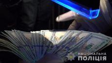 В Луцке на крупной взятке попался майор полиции