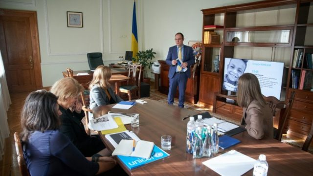 Елена Зеленская и глава ЮНИСЕФ в Украине Лотта Сильвандер провели рабочую встречу