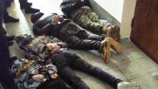 В Жмерниском горсовете произошли столкновения
