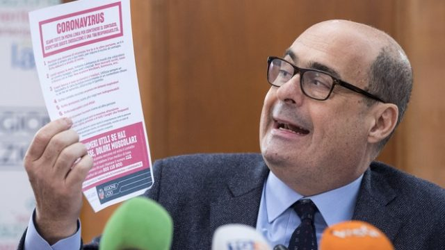 У главы крупнейшей итальянской партии нашли коронавирус