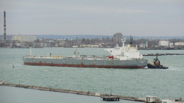 Одесский порт принял первый танкер с нефтью из США