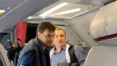 Гончарук полетел в отпуск с экс-мэром Ирпеня