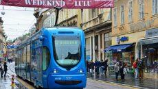 В Хорватии остановили общественный транспорт
