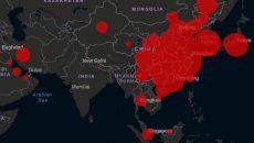 В СНБО создали электронную карту распространения заболеваемости COVID-19