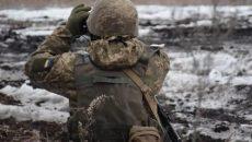 На Донбассе в понедельник погиб украинский военный