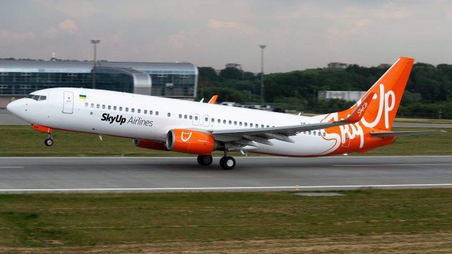 SkyUp меняет сетку полетов в Италию и Израиль