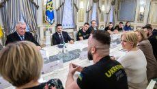 Зеленский обсудил с участниками сборной «Игр непокоренных» подготовку к международным соревнованиям