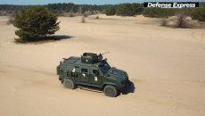 Военные приняли на вооружение новый боронеавтомобиль
