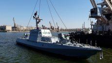 В Николаеве спустили на воду бронекатера ВМС