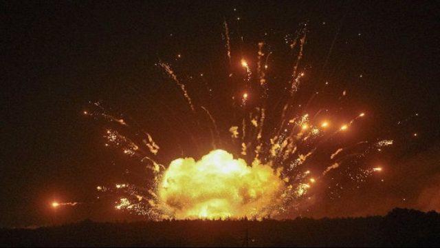 Временная комиссия назвала причину пожара на складах боеприпасов в Балаклее