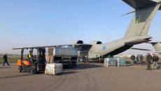 Украина отправила в Италию самолет с гумпомощью
