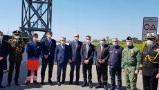 Итальянцы встретили песней украинских медиков