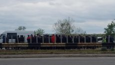 Сельхозпроизводители на Херсонщине протестуют против закрытия рынков