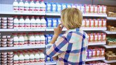 В украинских супермаркетах молоко подорожало почти на 5%
