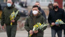 Зеленский и Шмыгаль почтили память ликвидаторов аварии на ЧАЭС
