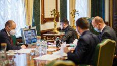 В Офисе президента обсудили детальный переход к адаптивному карантину