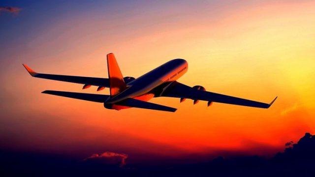 Количество полетов в воздушном пространстве Украины значительно уменьшилось