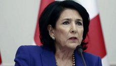 Грузия считает нормальной реакцию на назначение Саакашвили в Украине, - Зурабишвили