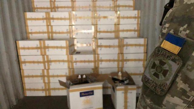 Пограничники изъяли контрабандных сигарет на 69 миллионов