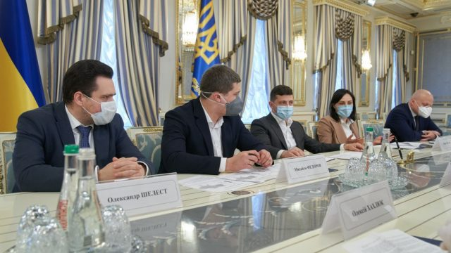 Зеленский предложил соединить Украину Интернетом