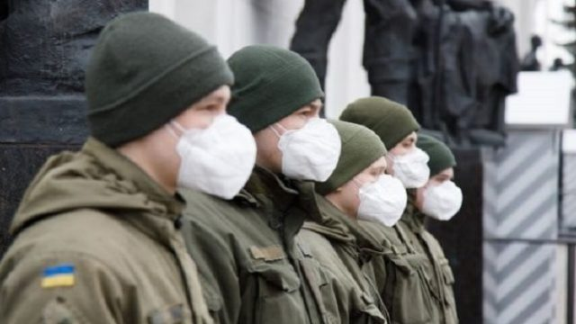 В ВСУ обнаружили новые случаи заболевания коронавирусом