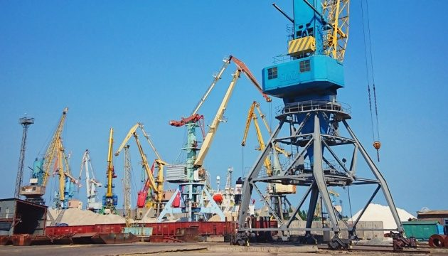 Украинские морпорты нарастили объемы перевалки грузов