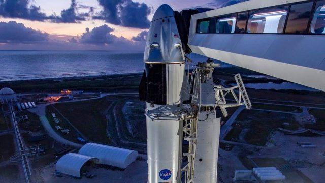 Запуск Crew Dragon к МКС отменили за 16 минут до старта