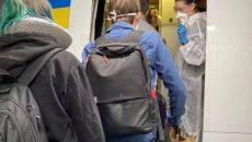 Еще 194 украинца вернулись спецрейсом из США в Украину