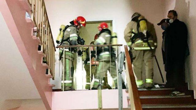 Причиной пожара в Александровской больнице мог быть поджог