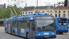 Запорожье докупит 4 больших б/у троллейбуса Van Hool