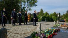 Президент почтил память погибших воинов, освобождавших Украину от нацистских оккупантов