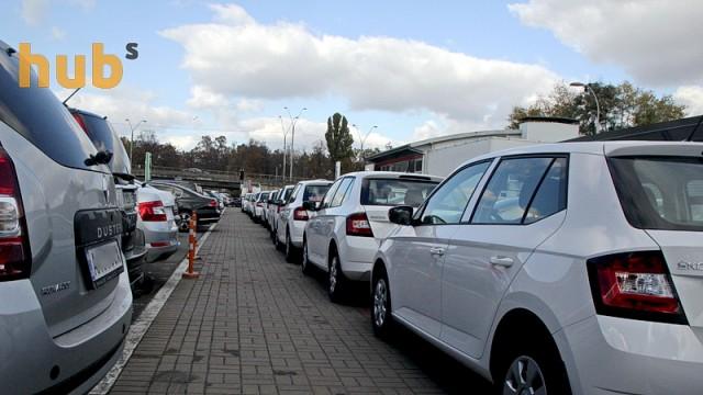Продажи новых авто в Украине существенно снизились