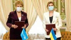 Елена Зеленская и ЮНИСЕФ подписали Меморандум о взаимопонимании