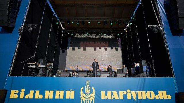 Зеленский поздравил Мариуполь