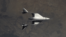 Космический корабль Virgin Galactic SpaceShipTwo успешно завершил второй тестовый полёт