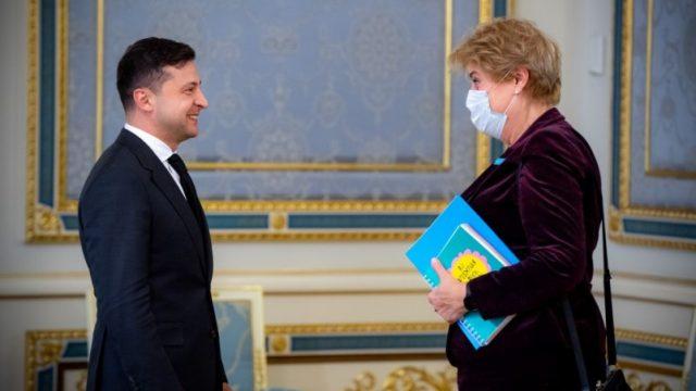 Президент встретился с главой Представительства Детского фонда ООН в Украине