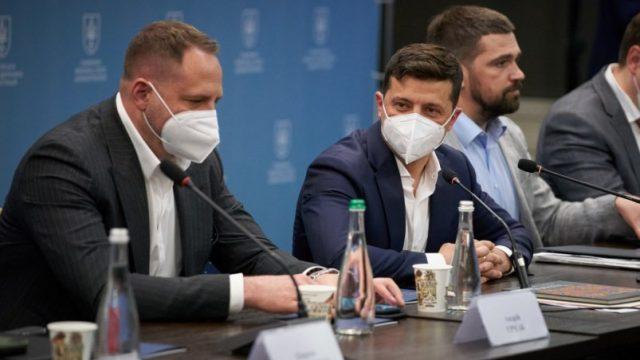 Президент встретился с предпринимателями Черниговщины