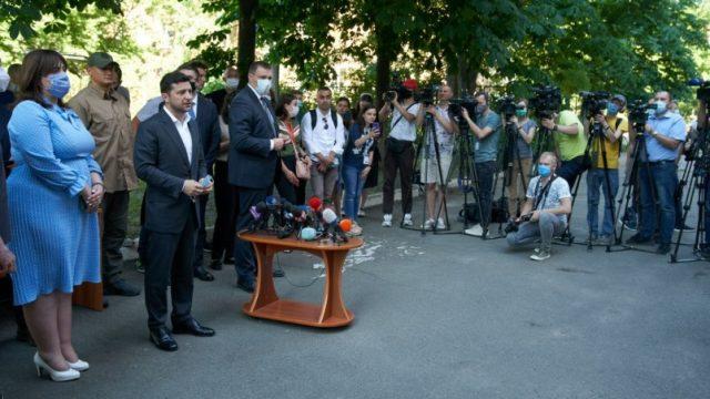 Зеленский решил проблему обеспечения жильем пострадавших жителей многоквартирного дома в Киеве