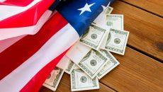 Дефицит бюджета США в этом фингоду приближается к $2 трлн